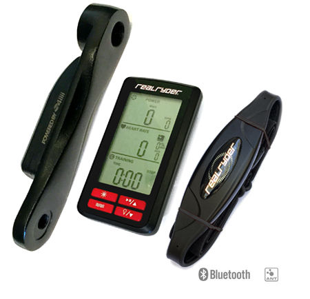 WattPRO1 Power Meter Kit including Computer Console, Crank Arm, and Heart Rate Monitor