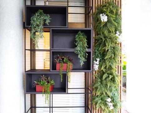 ARTEFACTO RJ 2018 | Jardim vertical permanente & Arranjos permanentes