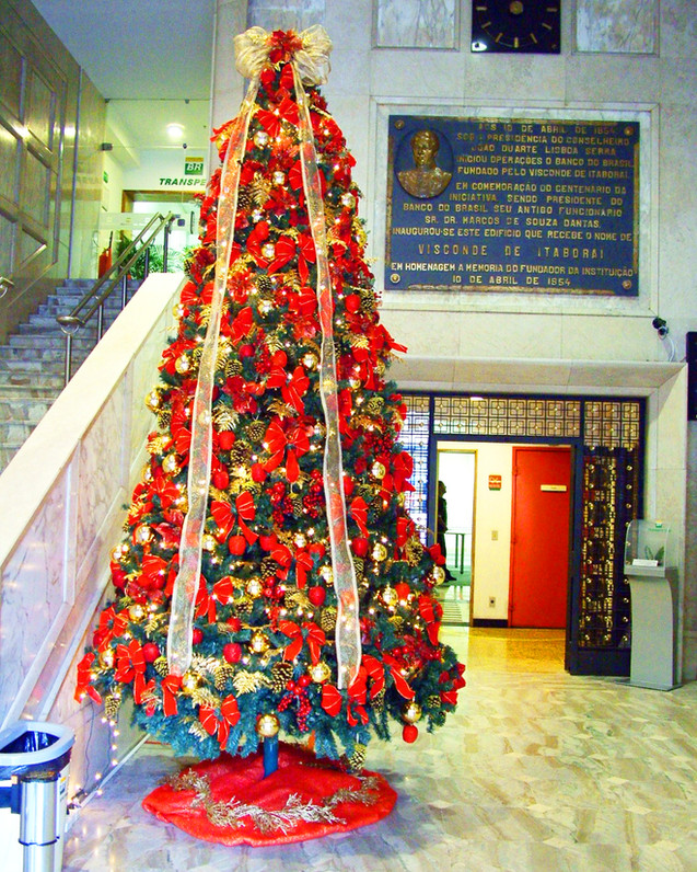 Árvore de Natal 4,0m H p/empresa Transpetro