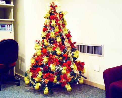 Árvore de Natal 1,50m H p/empresa Transpetro