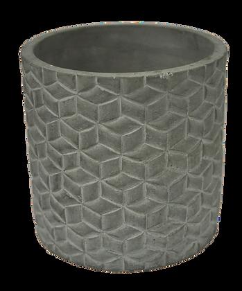 Vaso de Cimento Rústico