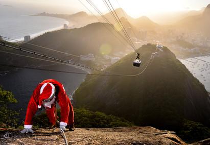 Papai Noel no Rio de Janeiro
