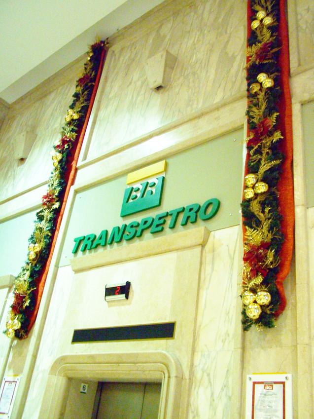 Festões Decorados p/empresa Transpetro