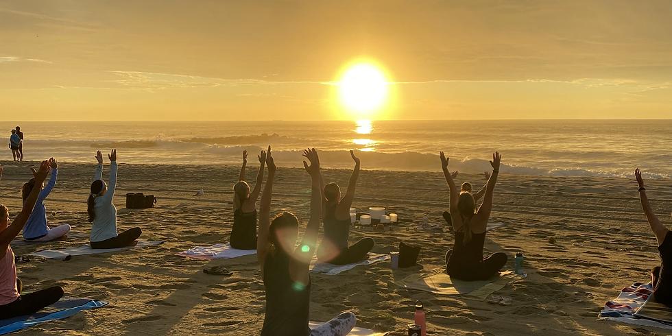 Salty Sunrise Yoga with Sound Bowls