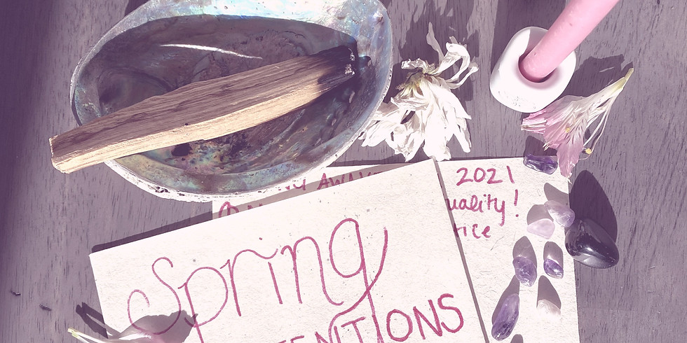Spring Renewal: Clear the Clutter & Set Spring Intentions