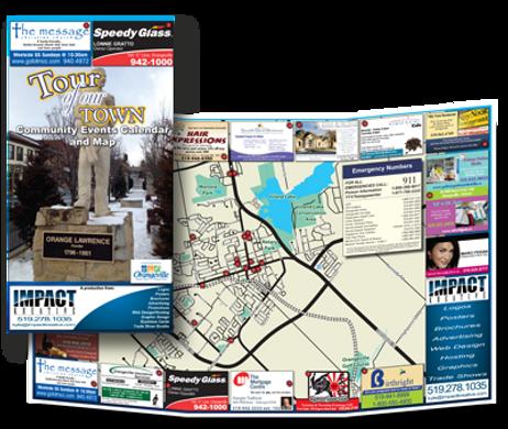 Orangeville Tour of Our Town Brochure