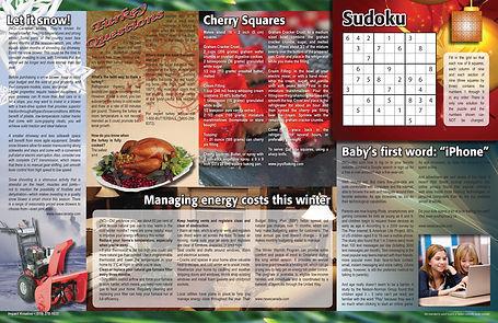 Monthly newsletter Commonside 3