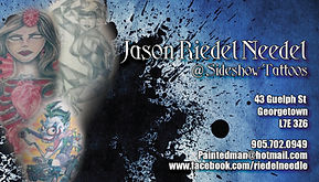 Business card designed for Jason Riedel in Georgetown