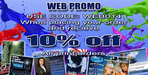 business card web promo