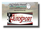 Tee and hole signs designed for the Orangeville Christian School golf tournament - Autosport