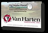 Tee and hole signs designed for the Orangeville Christian School golf tournament - Van Harten