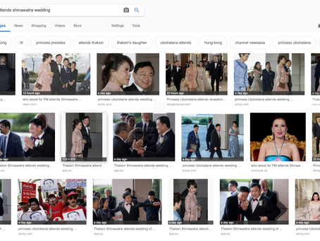 Another Royal Signal? A Shinawatra Wedding in Hong Kong and the Thai Elections