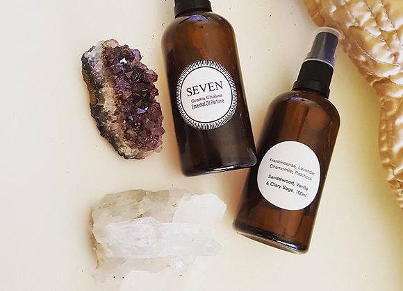 SEVEN Chakra Essential Oil Body Mist