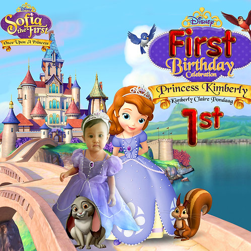 Sofia the First + Prince