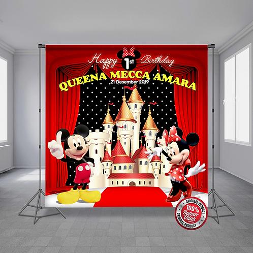 Mickey & Minnie Red Castle