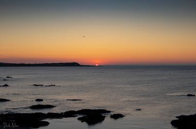 Sunset Over Whitehills