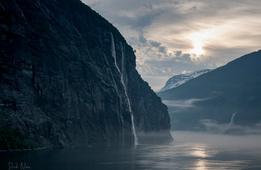 Misty Morning Fjord