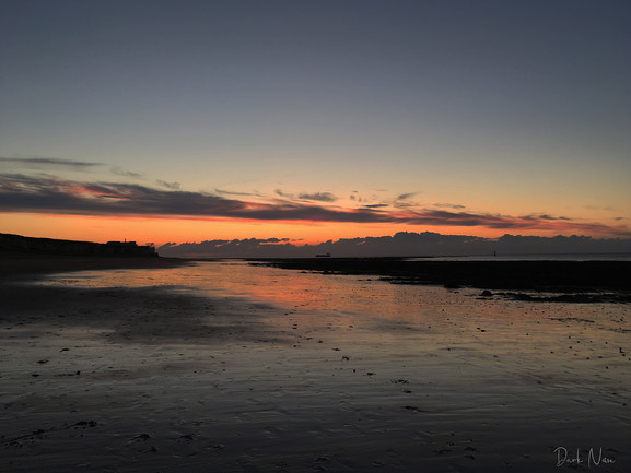 Sunset at Foreness Point
