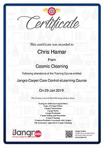 Jangro Carpet Care eLearning Course_Carp