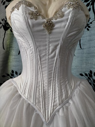 Bridal Corset with Diamonte applique