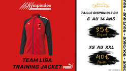 Team Liga training jacket