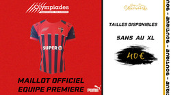 MAILLOT OFFICIEL EQUIPE 1