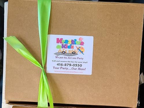 Birthday Party Art Supply Kit