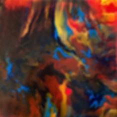 Humanity - Abstract Fluid Acryic Art - Mixed Media