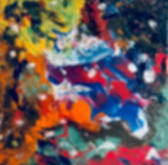 Profound - Abstract Fluid Acryic Art - Mixed Media