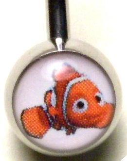BJ117 Nemo Cartoon Character Picture Body Jewelry