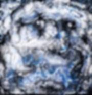 Starry Night - Abstract Fluid Acryic Art - Mixed Media