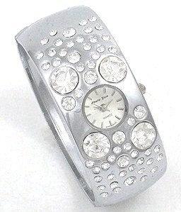 WW125 Crystal Bubble Chunky Cuff Watch