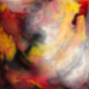 Adoration - Abstract Fluid Acryic Art - Mixed Media