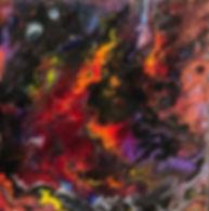Spirituality - Abstract Fluid Acryic Art - Mixed Media