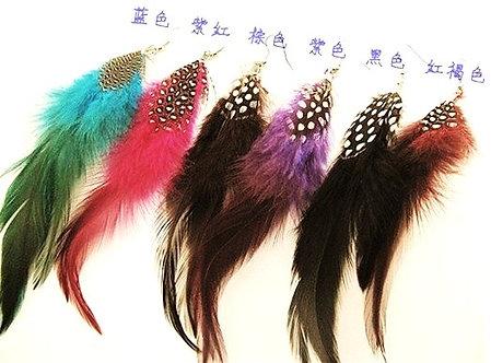 EA60 Trendy Feather Dangle Earrings