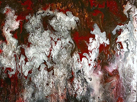 Truth - Abstract Fluid Acryic Art - Mixed Media
