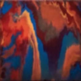Subtle - Abstract Fluid Acryic Art - Mixed Media
