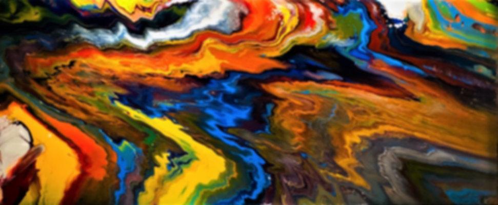 Good Karma - Abstract Paining 30 x 72 x 1.5.jpg