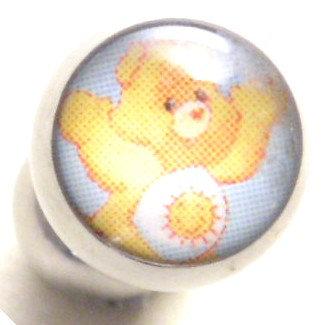 BJ107 Funshine Carebear Cartoon Character Picture Body Jewelry
