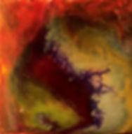 Divine- Abstract Fluid Acryic Art - Mixed Media