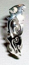 BJ127 Reversed Celtic Belly Navel Ring