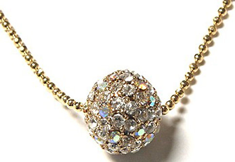 NP36 Sparkling Crystal Ball Celebrity Style Pendant