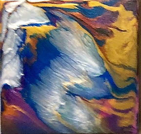 Freedom - Abstract Fluid Acryic Art - Mixed Media