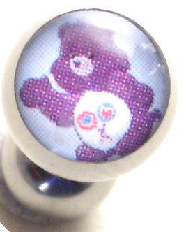 BJ114 Share Care Bear Cartoon Character Picture Body Jewelry