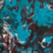 Peace - Abstract Fluid Acryic Art - Mixed Media