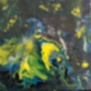Gratefulness - Abstract Fluid Acryic Art - Mixed Media