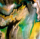 Affection - Abstract Fluid Acryic Art - Mixed Media