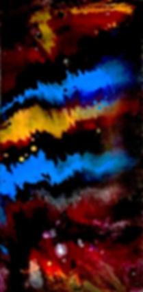 Amazement - Abstract Fluid Acryic Art - Mixed Media