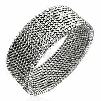 SSR527 Flexible Mesh Stainless Steel Ring