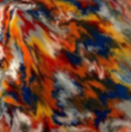 Alive - Abstract Fluid Acryic Art - Mixed Media